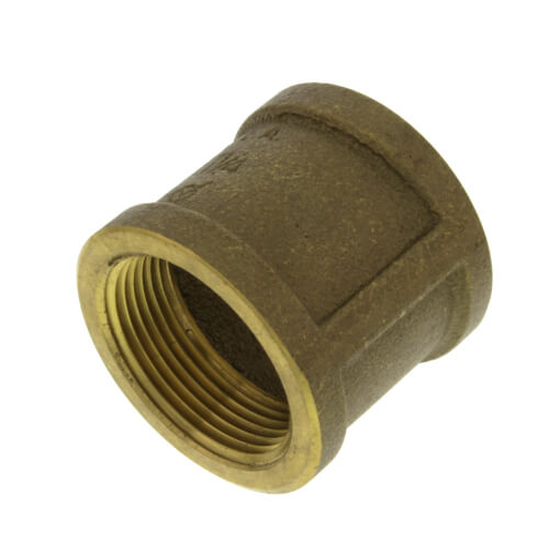 """2-1/2"""" FIP Brass Coupling (Lead Free) Product Image"""