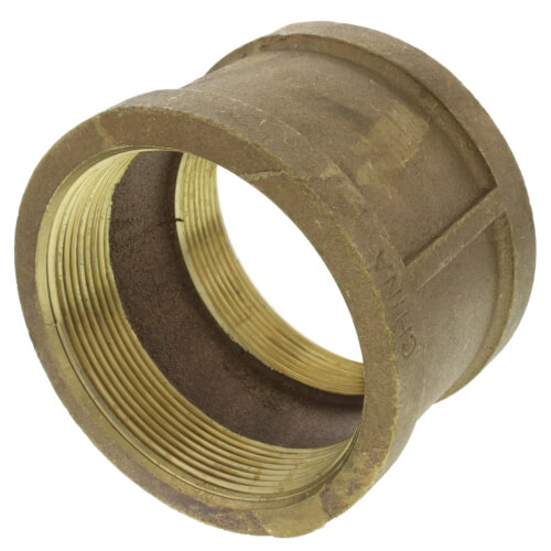 "4"" FIP Brass Coupling (Lead Free) Product Image"