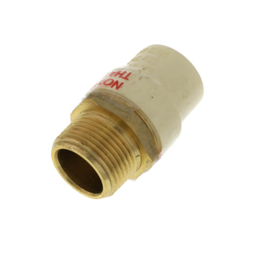 """3/4"""" CPVC x Male Brass Adapter (Lead Free) Product Image"""