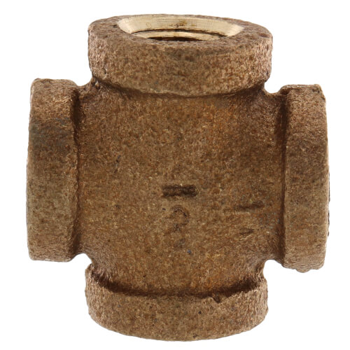 "1/8"" Brass Cross (Lead Free) Product Image"