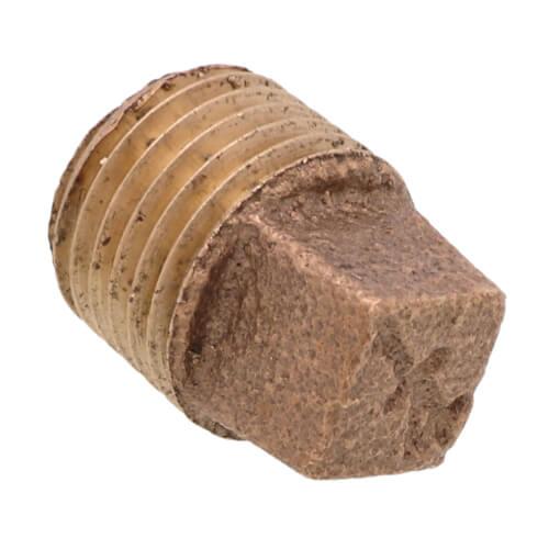 "1/4"" Brass Plug, Cored (Lead Free) Product Image"