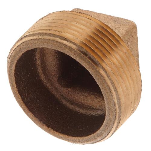 "1-1/2"" Brass Plug, Cored (Lead Free) Product Image"