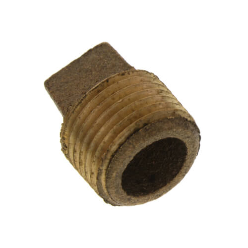 "1/2"" Brass Plug, Cored (Lead Free) Product Image"
