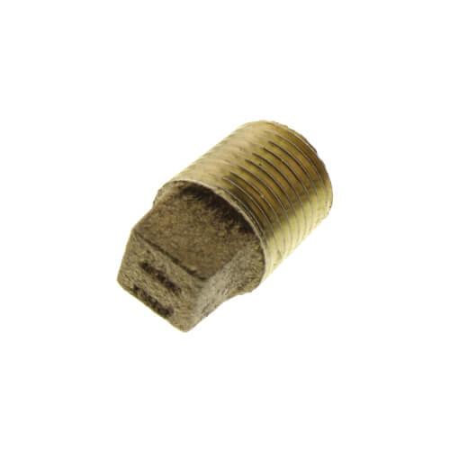 "1/8"" Brass Plug, Cored (Lead Free) Product Image"