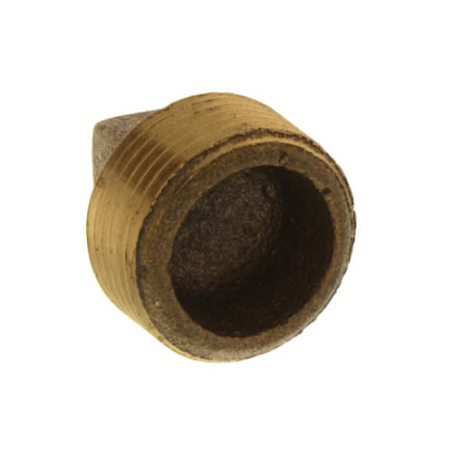 "3/4"" Brass Plug, Cored (Lead Free) Product Image"