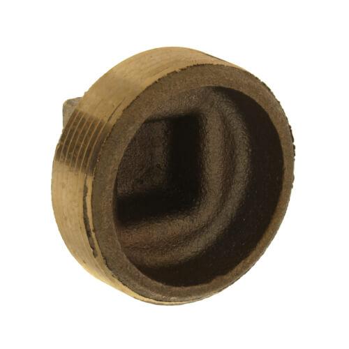 "2"" Brass Plug, Cored (Lead Free) Product Image"