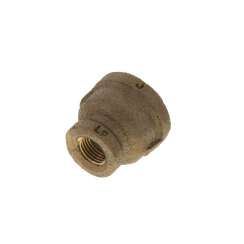 "3/8"" x 1/8"" FIP Brass Coupling (Lead Free) Product Image"