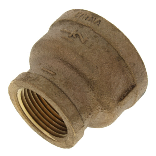 """1-1/2"""" x 1"""" FIP Brass Coupling (Lead Free) Product Image"""