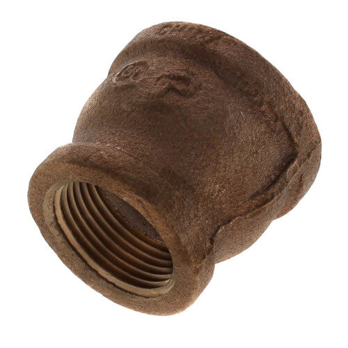 """1-1/4"""" x 1"""" FIP Brass Coupling (Lead Free) Product Image"""