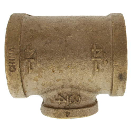 """1-1/4"""" x 1-1/4"""" x 3/4"""" FIP Brass Tee (Lead Free) Product Image"""