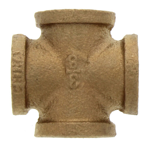 "3/8"" Brass Cross (Lead Free) Product Image"