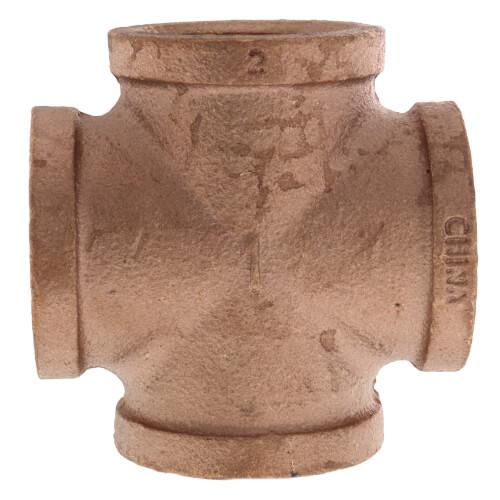 "1"" Brass Cross (Lead Free) Product Image"