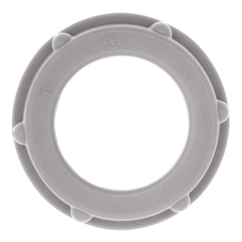 "3/4"" Insulating Non-Metallic Conduit Bushing Product Image"