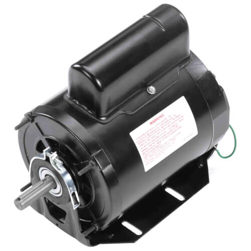 "6-1/2"" Capacitor Start Resilient Base Motor (115/230V, 1075 RPM, 3/4 HP) Product Image"
