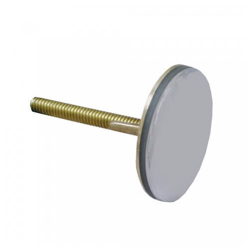 """1-3/4"""" OD Sink Hole Cover (Brushed Stainless Brass) Product Image"""