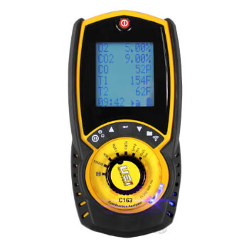 Flue Gas Combustion Analyzer w/ Differential Pressure Product Image