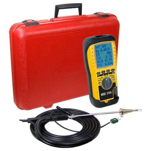 Combustion Analyzer w/ EOS Technology and High Altitude Compensation Product Image