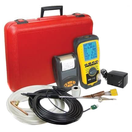 Combustion Analyzer Kit with Printer Product Image