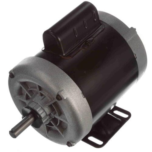 "6-1/2"" Capacitor Start Enclosed Rigid Base Motor (115/208-230V, 1725 RPM, 1/3 HP) Product Image"