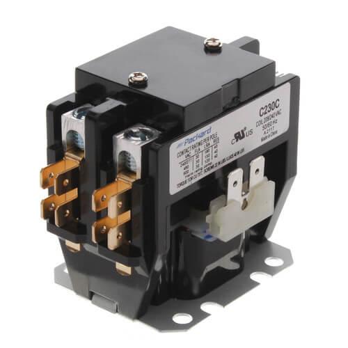 3 pole lighting contactor wiring diagram contactor wiring 208 c230c - packard c230c - 2 pole contactor (208/240v, 30 amp) #4
