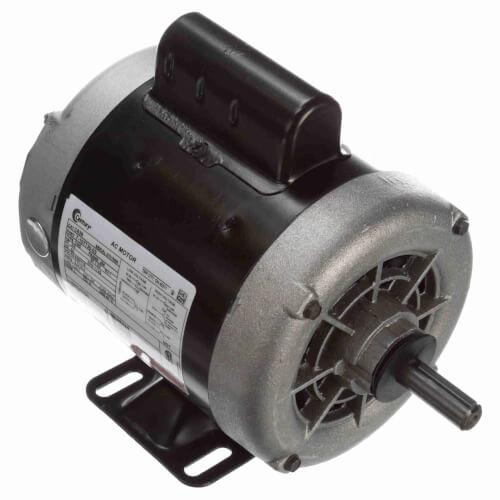 Capacitor Start Rigid Base Motor, 3/4 HP, 1725 RPM, Reversible (208-230/115V) Product Image
