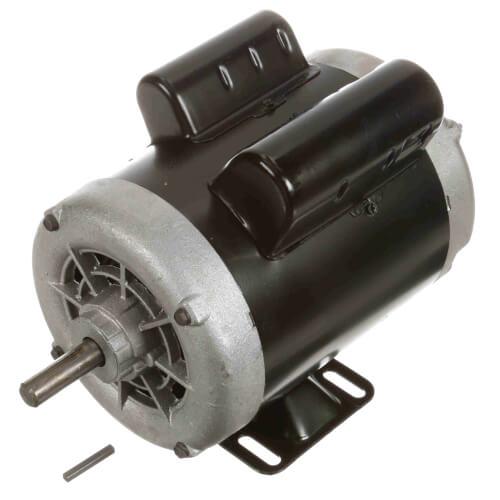 Capacitor Start Rigid Base Motor, 3/4 HP, 1140 RPM, Reversible (208-230/115V) Product Image