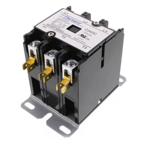 3 Pole Contactor (208/240V, 40 Amp) Product Image