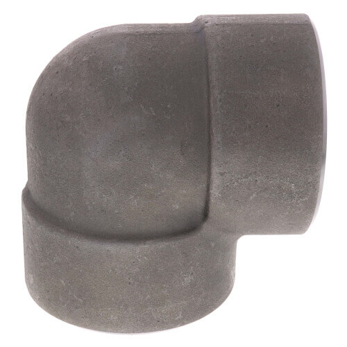 """3"""" 3000# A105N Carbon Steel 90° Elbow NPT Product Image"""