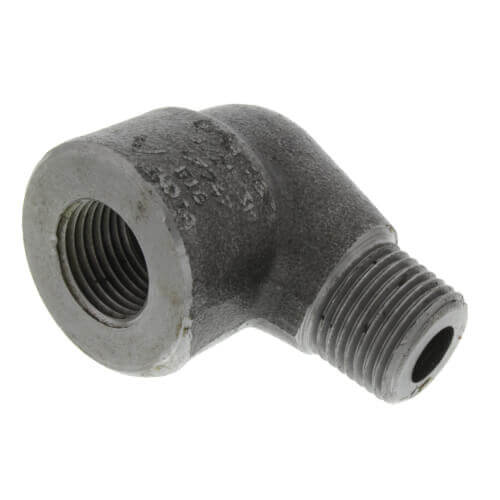 """3/8"""" 3000# A105N Carbon Steel Street 90° Elbow NPT Product Image"""