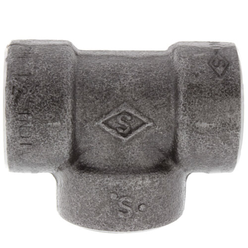 """1/2"""" 3000# A105N Carbon Steel Tee NPT Product Image"""