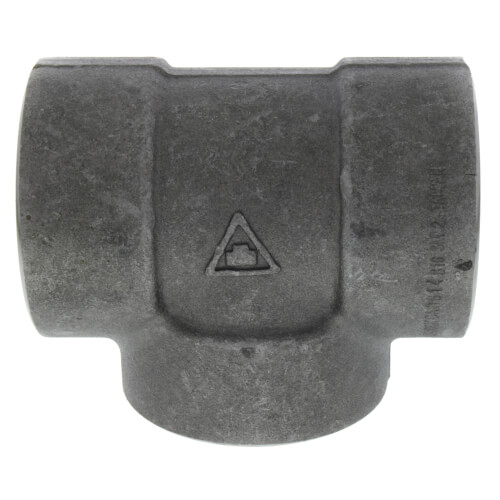 """2"""" 3000# A105N Carbon Steel Tee NPT Product Image"""
