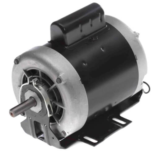 """6-1/2"""" Capacitor Start Resilient Base Motor (115/208-230V, 1725 RPM, 1/3 HP) Product Image"""