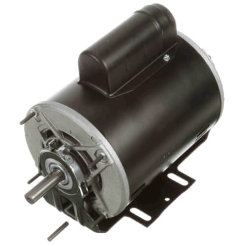 """6-1/2"""" Capacitor Start Resilient Base Motor w/ Auto Overload (115/208-230V, 1725 RPM, 1/2 HP) Product Image"""