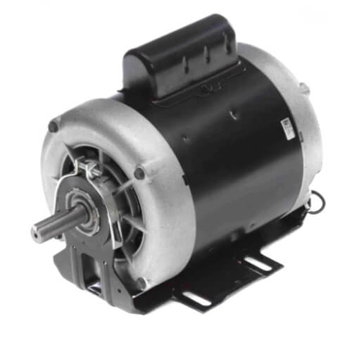 """6-1/2"""" Capacitor Start Resilient Base, Sleeve Bearing Motor (115/208-230V, 1725 RPM, 1/3 HP) Product Image"""