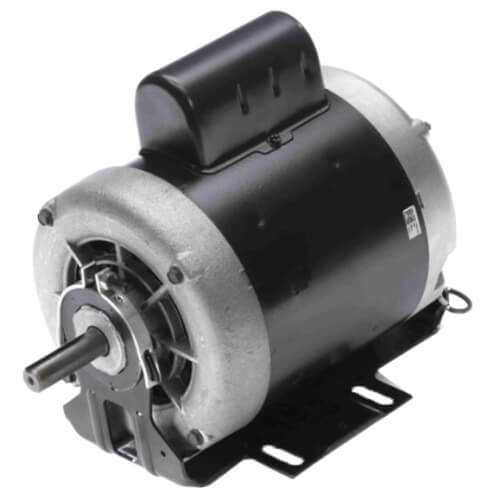 "6-1/2"" Capacitor Start Resilient Base Motor (115/230V, 1725/1425 RPM, 1/2 HP) Product Image"