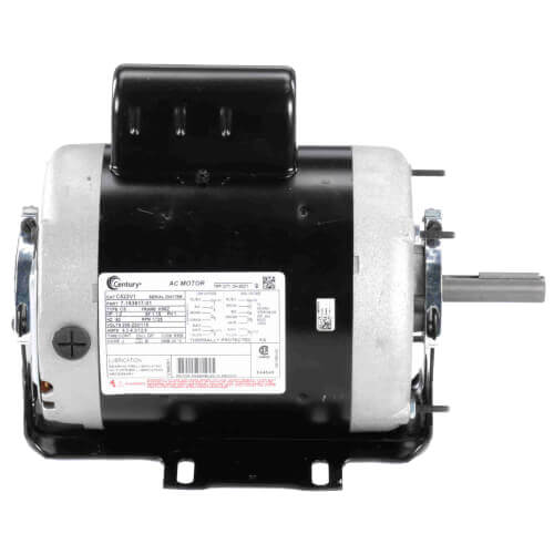 """6-1/2"""" Capacitor Start Resilient Base Motor (208-230/115V, 1725 RPM, 1 HP) Product Image"""