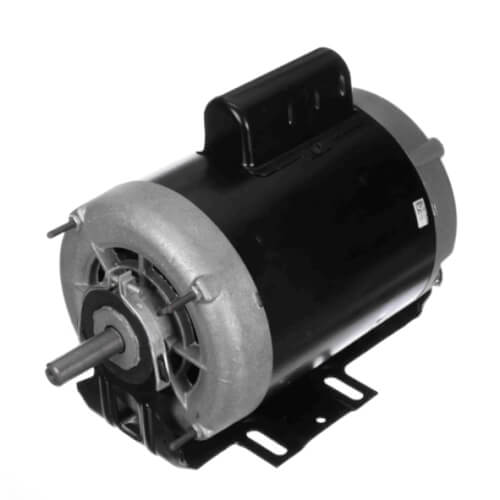 """6-1/2"""" Capacitor Start Resilient Base Motor (208-230V, 1725/1140 RPM, 3/4, 1/4 HP) Product Image"""