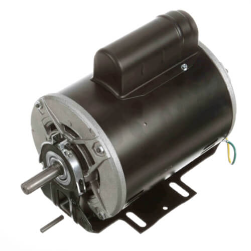 """6-1/2"""" Capacitor Start Resilient Base Motor (115/208-230V, 1725 RPM, 1/2 HP) Product Image"""