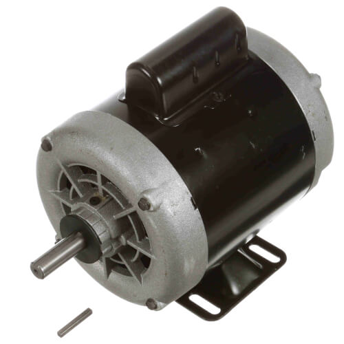 Capacitor Start ODP Rigid Base Motor with Sleeve, 1/2 HP, 1725 RPM (115/230V) Product Image