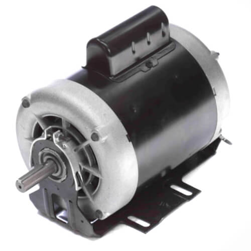 "6-1/2"" Capacitor Start Resilient Base Motor (115V, 1725/1140 RPM, 1/2, 1/4 HP) Product Image"