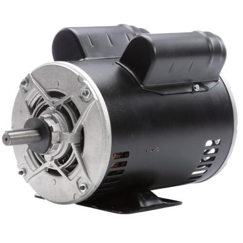 "6-1/2"" Capacitor Start Rigid Base Motor (208-230/115V, 1725 RPM, 1 HP) Product Image"