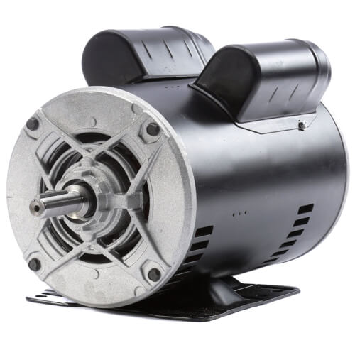 "6-1/2"" Capacitor Start Rigid Base Motor (208-230/115V, 1725 RPM, 1-1/2 HP) Product Image"