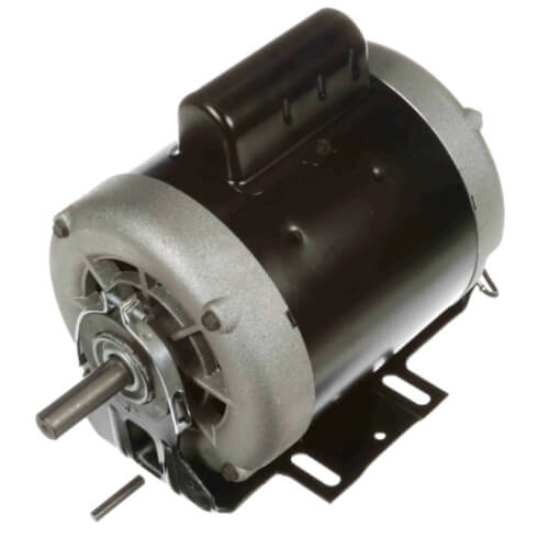 "6-1/2"" Capacitor Start Resilient Base Motor (115/230V, 1725 RPM, 1/2 HP) Product Image"