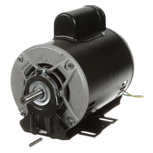 "6-1/2"" Motor, 1-1/2 HP, 1800 RPM, Reversible (208-230/115V) Product Image"