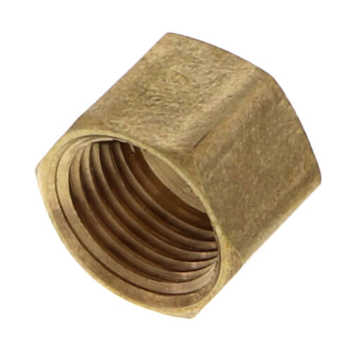 """(61C-4) 1/4"""" OD Brass Compression Cap (Lead Free) Product Image"""