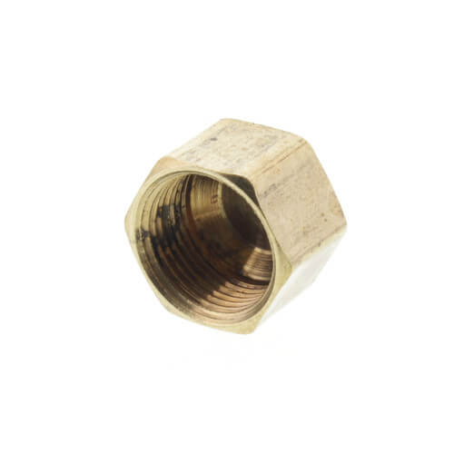 """(61C-6) 3/8"""" OD Brass Compression Cap (Lead Free) Product Image"""