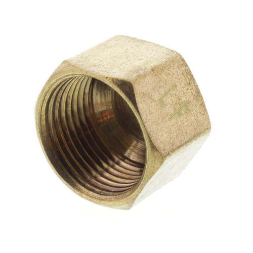 """(61C-8) 1/2"""" OD Brass Compression Cap (Lead Free) Product Image"""