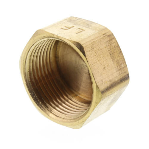 """5/8"""" OD Brass Compression Cap (Lead Free) Product Image"""