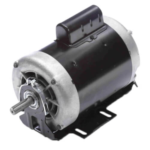 """6-1/2"""" Capacitor Start Resilient Base Motor (230V, 1725/1140 RPM, 3/4, 1/3 HP) Product Image"""