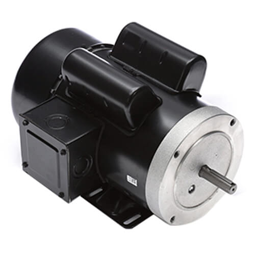 56 Capacitor Start ODP Rigid Base Motor, 1-1/2 HP, 1725 RPM (115/208-230V) Product Image